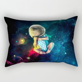Baby Astronaut Rectangular Pillow