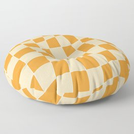 Abstract mosaic tile 136 Floor Pillow