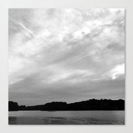Spy Pond Rowers  Canvas Print