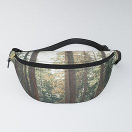 Hiker Girl In Giant Forest Photography Fanny Pack