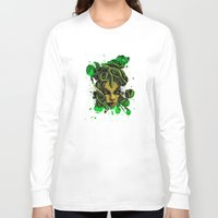 medusa Long Sleeve T-shirts featuring Medusa by Spooky Dooky