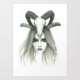 Zodiac - Aries Art Print