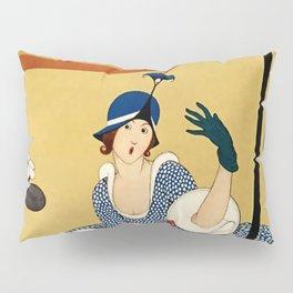 """Art Deco Design """"Hat Shop"""" Pillow Sham"""