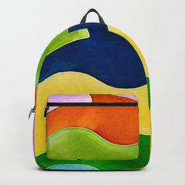 Colorful fishes Backpack