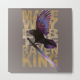 The Messenger/ Raven Cycle Metal Print