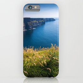 Sunny Cliffs of Moher, Ireland iPhone Case