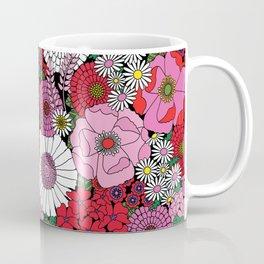 Vintage Florals Geranium Coffee Mug