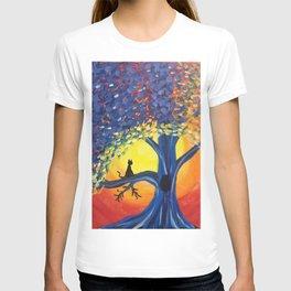 Kitties Love Sunsets T-shirt