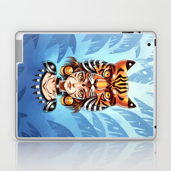 Tiger Tribe Laptop & iPad Skin