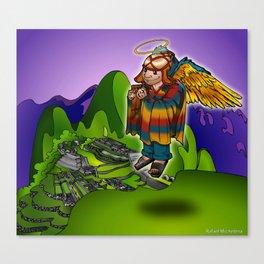Angel de Machu Picchu Canvas Print