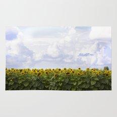 Sunshine and Sunflowers Rug