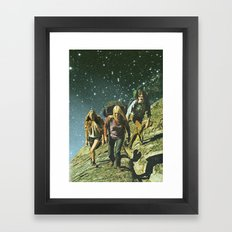 Los Amantes Framed Art Print