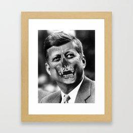 Dallas County Framed Art Print