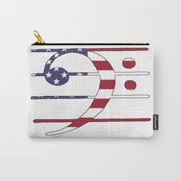 Bass Clef Carry-All Pouch
