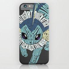 Vaporeon Typography Slim Case iPhone 6s