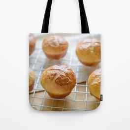Baked sweet buns Tote Bag
