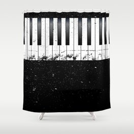 Jazz Piano Shower Curtain