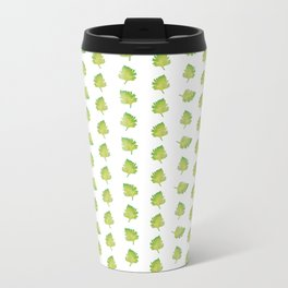 Green leaves Metal Travel Mug