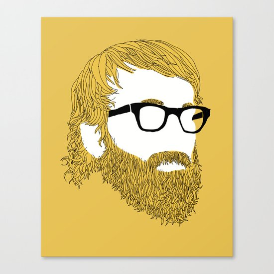 Replaceable Character Canvas Print