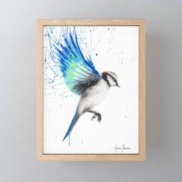 Tropical Oasis Bird Framed Mini Art Print