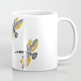 Dragonflies - Black Palette Coffee Mug