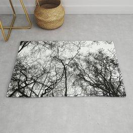 Tree Silhouette Series 4 Rug