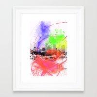 skyline Framed Art Prints featuring Skyline by Fine2art