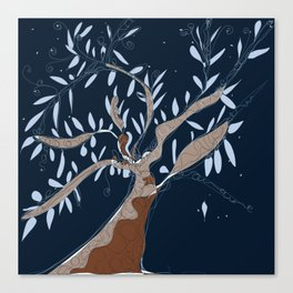 Tree of connection  Canvas Print