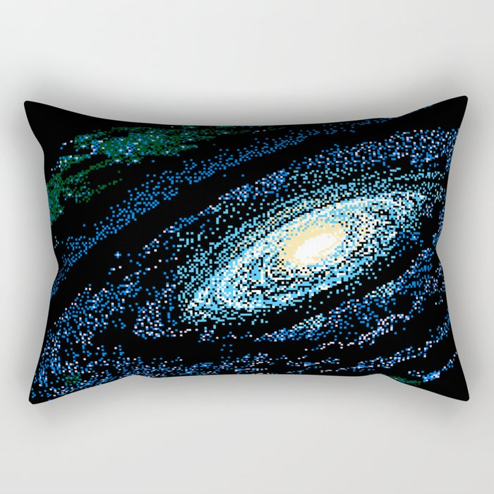 SWIRLING GALAXY Rectangular Pillow