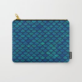 Mermaid scales iridescent sparkle Carry-All Pouch