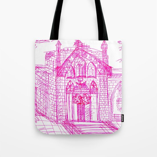 Building sketch Tote Bag