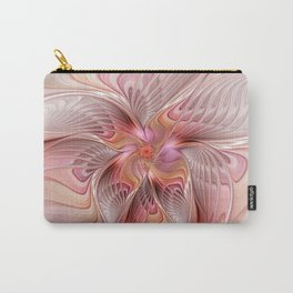 Abstract Butterfly, Fantasy Fractal Carry-All Pouch