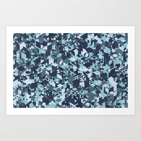 Panelscape Colour Lover - for Paolo Tonon Art Print