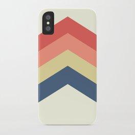 Retro Geometric iPhone Case
