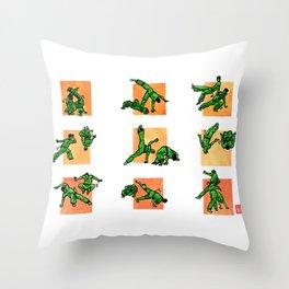 Capoeira 520+ Throw Pillow