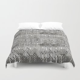 Gray abstract background Duvet Cover