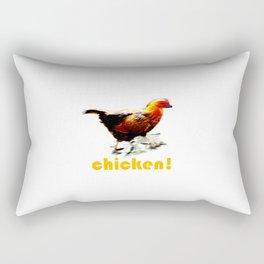 Chicken! Rectangular Pillow