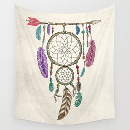 Big Dream Catcher Wall Tapestry
