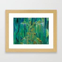 Solid Gold Framed Art Print