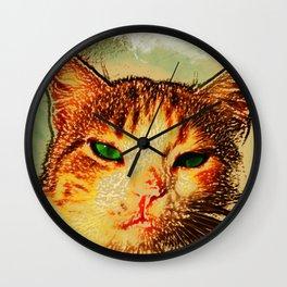 -hypnotize- LOOK AT MY EYES.. Wall Clock