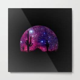 Noche caliente Metal Print