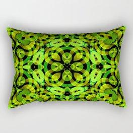 Floral Fractal Art G539 Rectangular Pillow