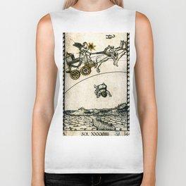 SOL XXXXIIII. Mantegna Tarot Biker Tank