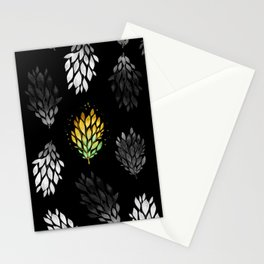 -Only few are gold- on black Stationery Cards