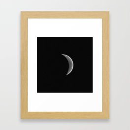 Moon 1 Framed Art Print