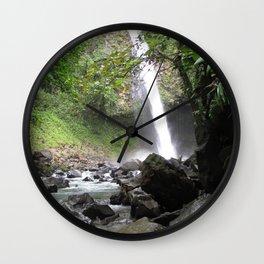 Hard Water Wall Clock