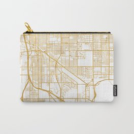 TUCSON ARIZONA CITY STREET MAP ART Carry-All Pouch