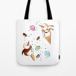 Snowy Sundae Tote Bag