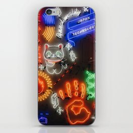 Japanese Neons iPhone Skin