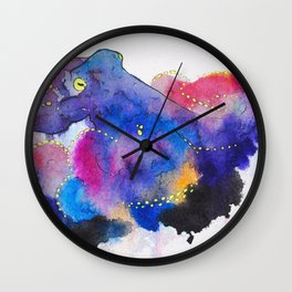 Worried Color Wall Clock